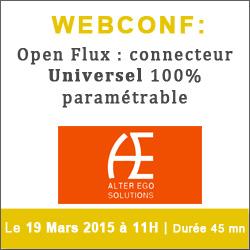 Webconf Open Flux : Fini les problèmes de connecteur ou d'interfaces